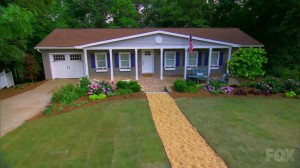 The home featured in the July 29th episode after renovation