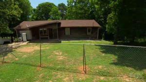 The home featured in the July 29th episode before renovation