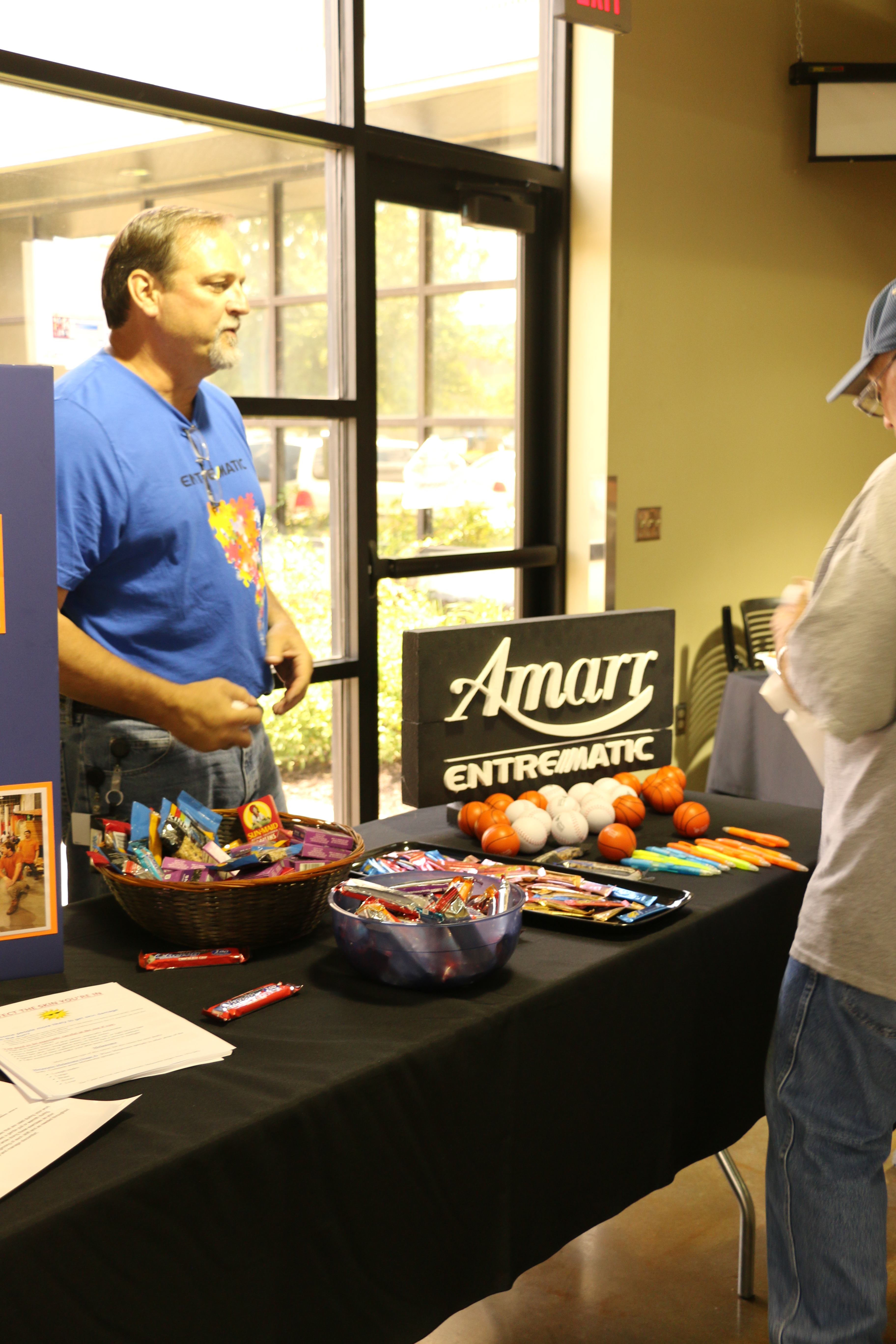5472 #B39118 Rodney Sharp Safety Director At Entrematic Mans The Safety Booth save image Amarr Garage Doors Lawrence Ks 38173648
