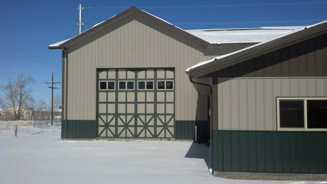 The Amarr Classica garage door can fit both tall and wide openings.