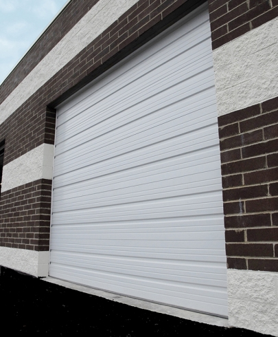 Amarr 2402 (formerly Model 2400) steel ribbed panel sectional commercial door